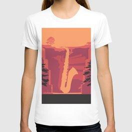 Music Mountains No. 2 T-shirt