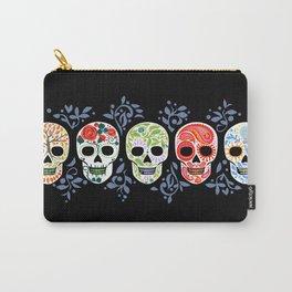 Sugar Skulls_Celebracion del Color line_Calaveras_RobinPickens Carry-All Pouch