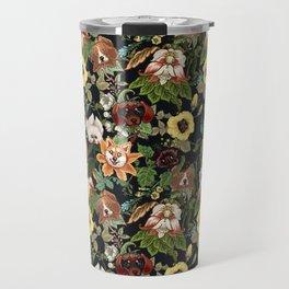 Botanical Puppies Travel Mug