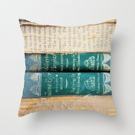 Jane Eyre / Wuthering Heights Throw Pillow