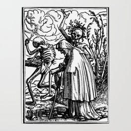 Holbein - Danse Macabre Poster