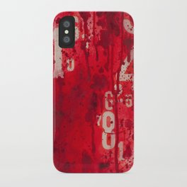 Numeric Values: Slash the Budget iPhone Case