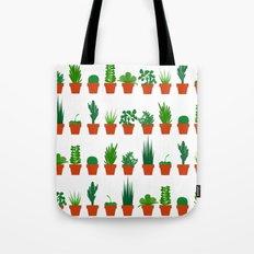 Small Plants Tote Bag