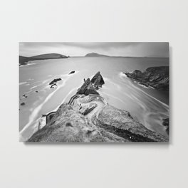 Coumeenoole Beach. Kerry | Ireland Metal Print