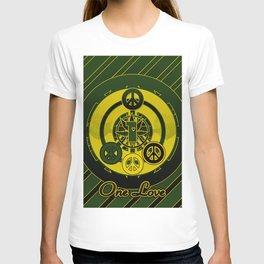 One Love (Green) T-shirt
