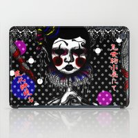 clown iPad Cases featuring CLOWN by AKIKO