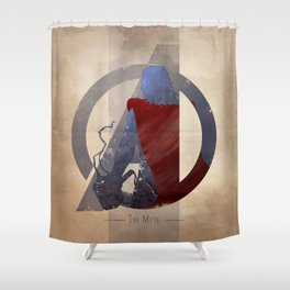 Avengers Assembled: The Myth Shower Curtain