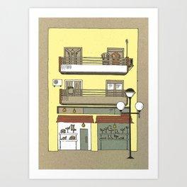 Building nr2 Art Print