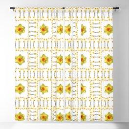 Daffodil Madness Blackout Curtain