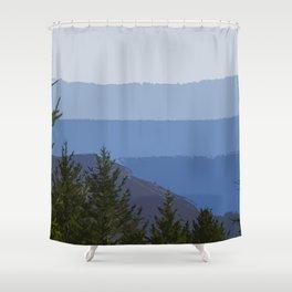 Dipsea Trail Shower Curtain