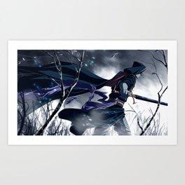 Cold Steel Art Print