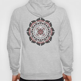 Pacific Northwest Native American Art Mandala Hoody