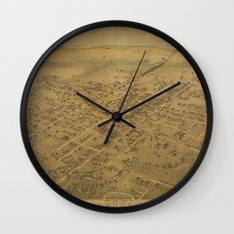 Brenham 1881 Wall Clock