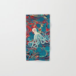 Vintage Octopus Hand & Bath Towel