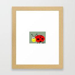 Bed Bug Framed Art Print