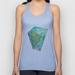 BIRTHSTONES - MAY / EMERALD Unisex Tank Top