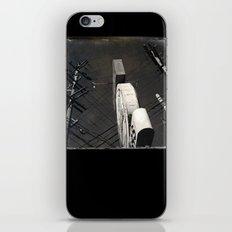 The Wizz take 2, Black and White San Francisco iPhone & iPod Skin