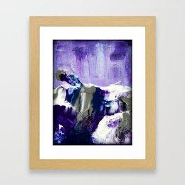 Amethyst Mist Framed Art Print