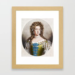 """Empress Consort"" Portrait Painting by Jeanpaul Ferro Framed Art Print"