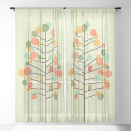 Happy Tree - Tweet Tweet Sheer Curtain