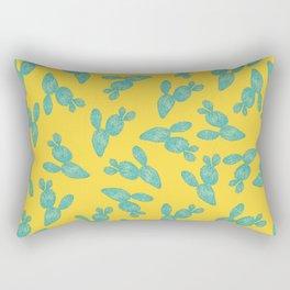 Cactus Surface Pattern Design Rectangular Pillow