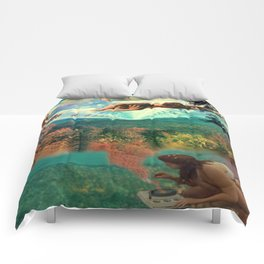'Amour Fou. She wanted love, love, crazy love' Comforters