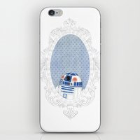 r2d2 iPhone & iPod Skins featuring R2D2 by Jacqueline Hudon Illustrations
