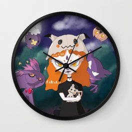 aghastly-friends Wall Clock