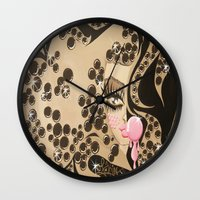 blondie Wall Clocks featuring Blondie by Artist_Fran_Doll
