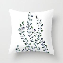 Sea Weeds Throw Pillow