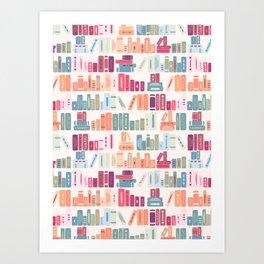 bookish dreams Art Print