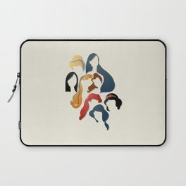 Royal Hair Laptop Sleeve