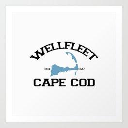Wellfleet, Cape Cod Art Print