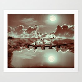 Phantoms In The Night Art Print