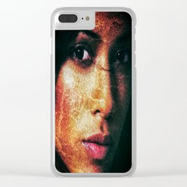 Dania Rmirez Clear iPhone Case