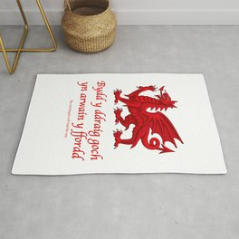 The Red Dragon Will Lead The Way Rug