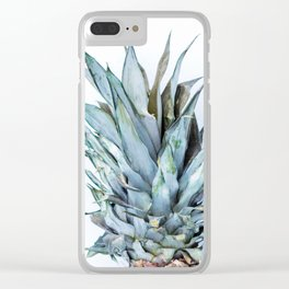 Ananas - Pineapple On A White Background #decor #society6 Clear iPhone Case