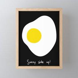Sunny side up! Framed Mini Art Print