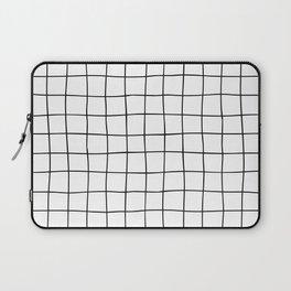 Black Grid V3 Laptop Sleeve