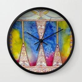 Innu Munaikutan Background Wall Clock