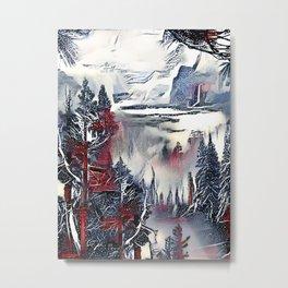 Winter Etude. Metal Print
