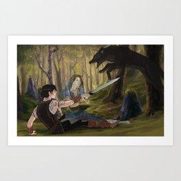 Seers Isle: Wolf Art Print