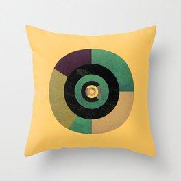 Circle Fibonacci.2 Throw Pillow