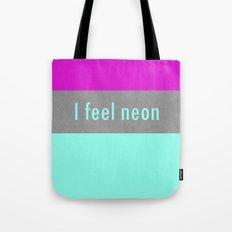 Concrete & Neon Tote Bag