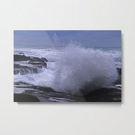 Majestic Waves! Metal Print