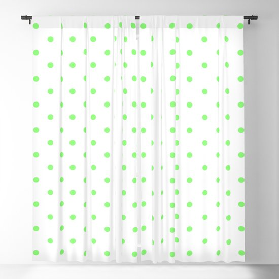 Dotted (Lime & White Pattern) by luxelab