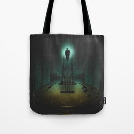 Music is the way Tote Bag
