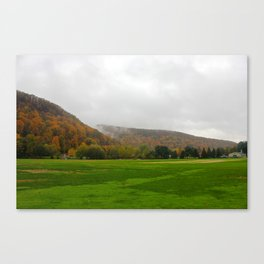 Turf Farm Foliage, Sunderland, Ma Canvas Print