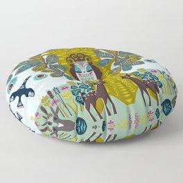 The Horse Chestnut {Day} Floor Pillow