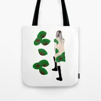 cara Tote Bags featuring Cara by Melania B